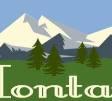 Beautiful Montana Sticker