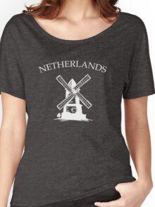 Netherlands Windmills Women's Relaxed Fit T-Shirt