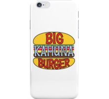 Big Kahuna Burger Tee iPhone Case/Skin