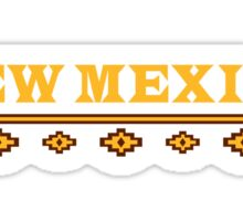 New Mexico Pattern Sticker