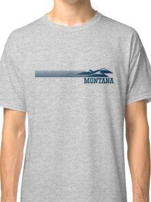Retro Montana Skyline Classic T-Shirt