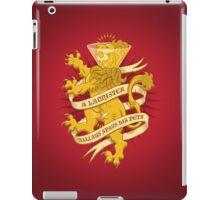 A Lannister Always... iPad Case/Skin