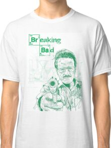 walter white gun breaking bad Classic T-Shirt