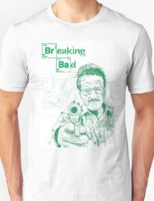 walter white gun breaking bad T-Shirt