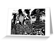 Above & Overseas Greeting Card