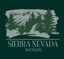 Sierrra Nevada Mountains by whereables