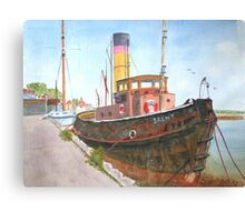Brent, by John Rees Canvas Print