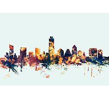 Austin Texas Skyline Photographic Print