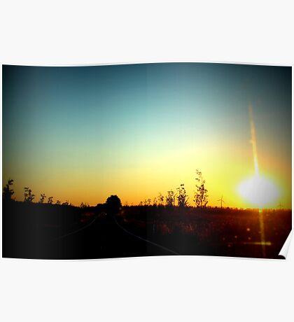 Summer Sunset  Poster