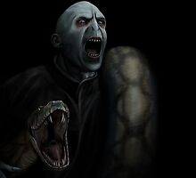 Harry Potter - Lord Voldemort by SessaV