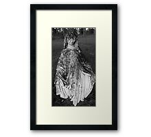 Aged Mother Mary  Framed Print