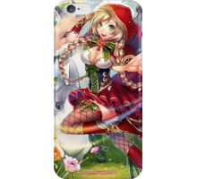Force of Will - Little Red, the true Fairy Tale iPhone Case/Skin