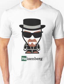 heisenberg breaking bad walter white drawing Unisex T-Shirt