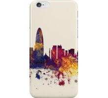 Barcelona Spain Skyline iPhone Case/Skin