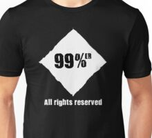 99%er - All Rights Reserved Unisex T-Shirt