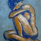 Blue Soul - Female Nude by CarmenT