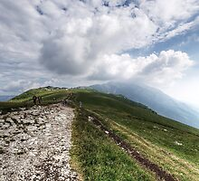 Monte Baldo by Mike Church