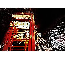 The long night out  Photographic Print