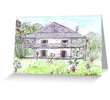 Doctor's House, Old Leprosy Colony, Curieuse Island Greeting Card