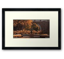 The Spartan Seasons - Fall Framed Print