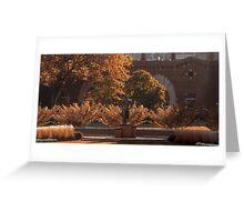 The Spartan Seasons - Fall Greeting Card