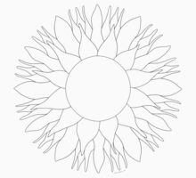 Bowling for Sunshine Mandala - Color Your Own! by TheMandalaLady