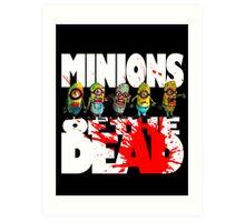 zombie minions of the dead Art Print