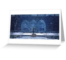 The Spartan Seasons - Winter Greeting Card