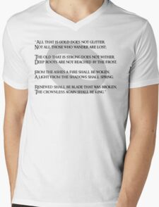 All that is gold does not glitter Mens V-Neck T-Shirt