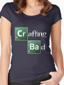Crafting Bad Women's Fitted Scoop T-Shirt