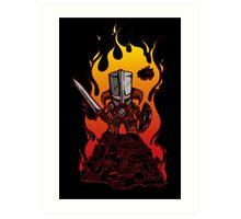 Dragon Crasher Art Print