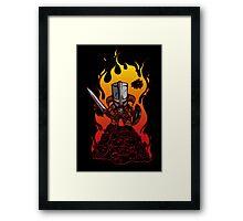 Dragon Crasher Framed Print