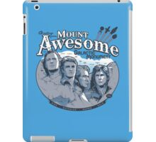 Mt. Awesome iPad Case/Skin