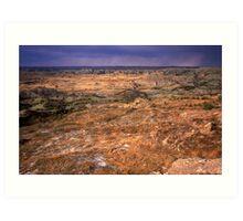 Painted Canyon, Theodore Roosevelt National Park, North Dakota Art Print