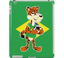 Cute cartoon jaguar iPad Case/Skin