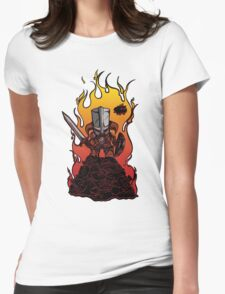 Dragon Crasher Womens Fitted T-Shirt