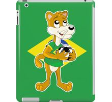 Cute cartoon puma / cougar iPad Case/Skin
