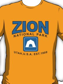 Zion National Park Camping T-Shirt