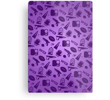 Warehouse 13 Case (Purple) Metal Print
