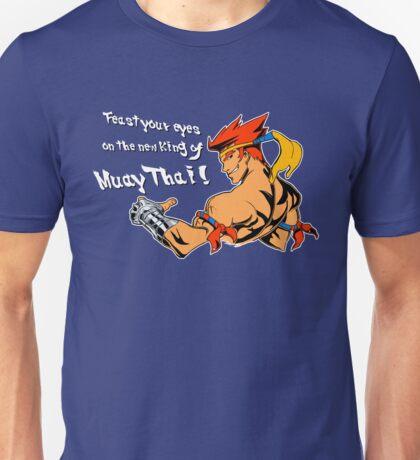 The New King of Muay Thai Unisex T-Shirt