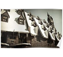 Hogsmeade Village: The Rooftops Poster