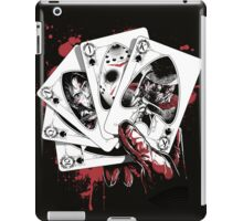 Killer Flush (K) iPad Case/Skin