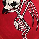 Cute owl Skeleton by Stolensouljess