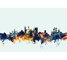 Cambridge England Skyline Photographic Print