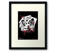 Killer Flush (K) Framed Print