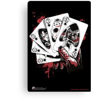Killer Flush (K) Canvas Print