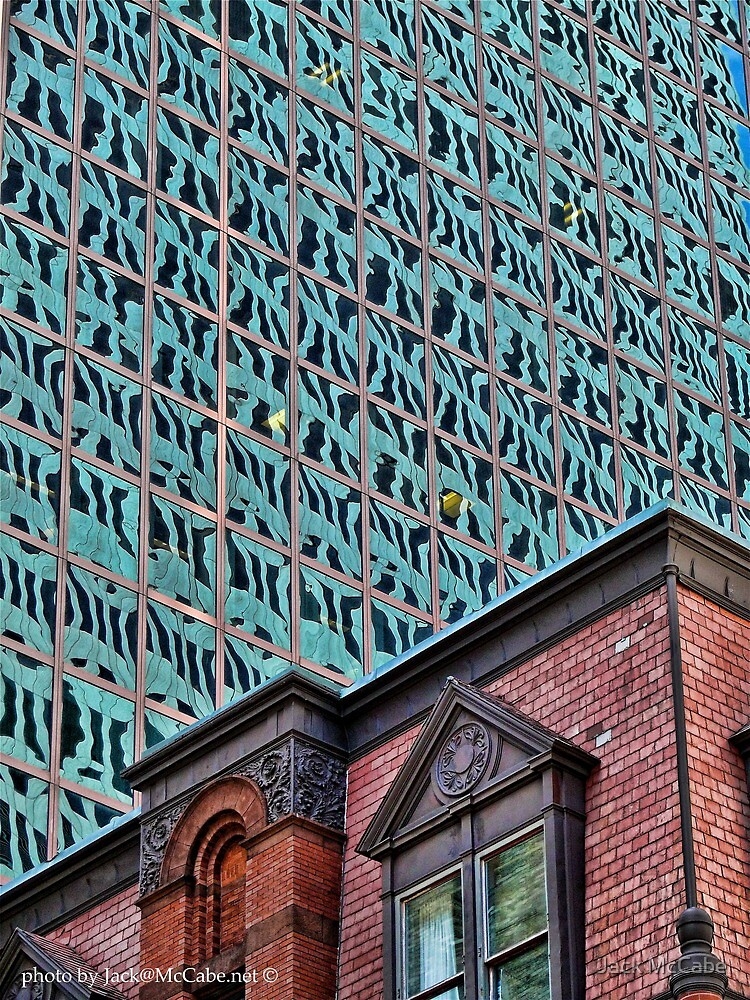 Old Exchange Building, Citizens Bank Plaza, Providence RI by Jack McCabe