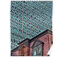 Old Exchange Building, Citizens Bank Plaza, Providence RI Poster