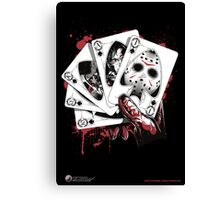 Killer Flush (J) Canvas Print