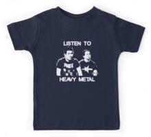 Listen To Heavy Metal Kids Tee